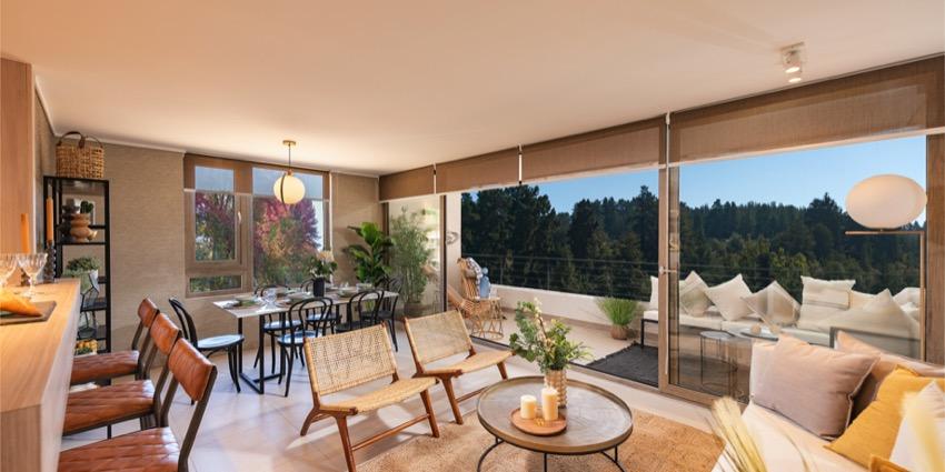 Proyecto Condominio Los Almendros Reñaca de Inmobiliaria Besalco-4