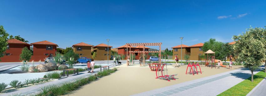 Proyecto Condominio Nueva Colina de Inmobiliaria PY-3