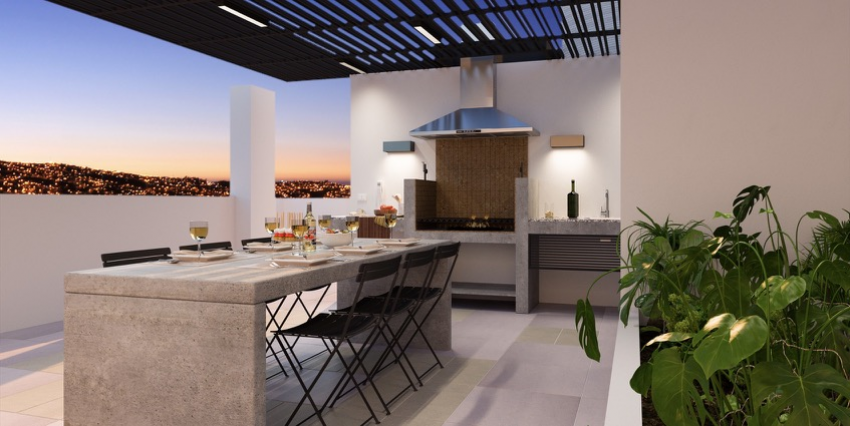Proyecto Edificio Parque Urbano de Inmobiliaria RVC-6