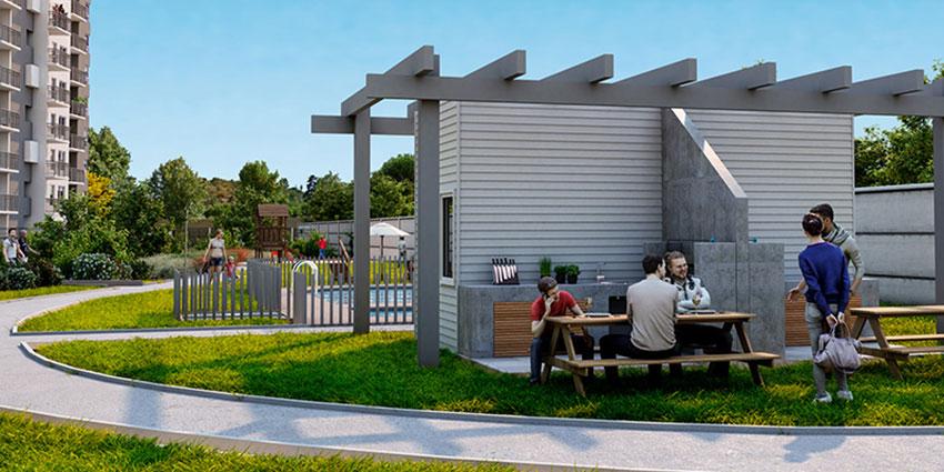 Proyecto Condominio Parque Peñablanca de Inmobiliaria Alborada-7