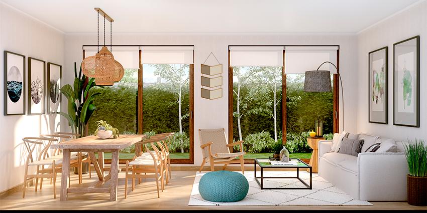 Proyecto Condominio Bosque Laguna de Inmobiliaria Aitue-3