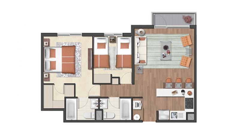 condominio-plaza-schwerter-tipo-55b