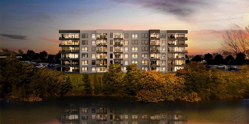 Proyecto Condominio Borde Laguna de Inmobiliaria Aitue-2
