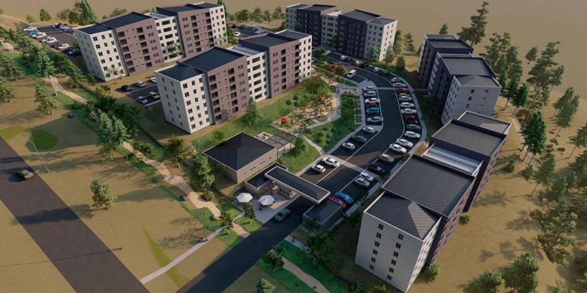 Proyecto Barrio Universitario Curauma de Inmobiliaria Comosa-8