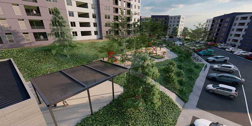 Proyecto Barrio Universitario Curauma de Inmobiliaria Comosa-5