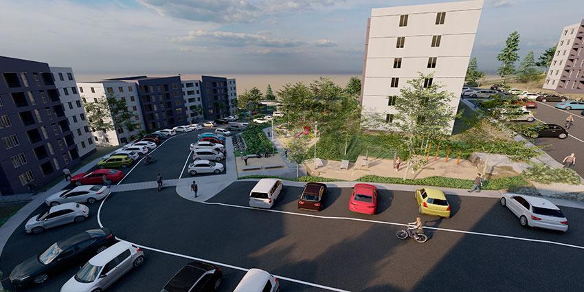 Proyecto Barrio Universitario Curauma de Inmobiliaria Comosa-6