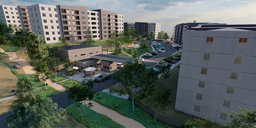 Proyecto Barrio Universitario Curauma de Inmobiliaria Comosa-7