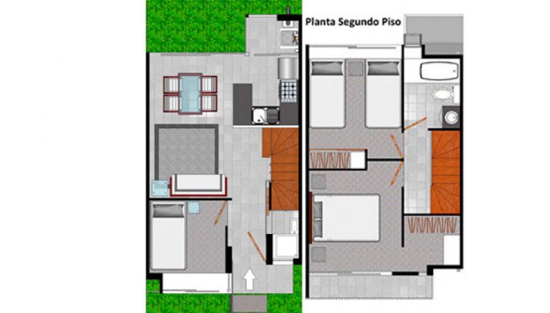 condominio-townhouse-parque-peñaflor-tipo-b