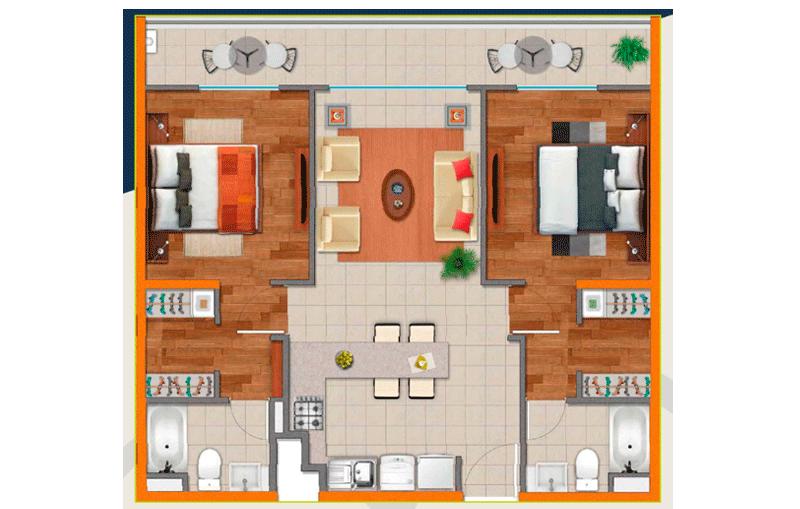 valle-altiplánico---condominio-modelo-b