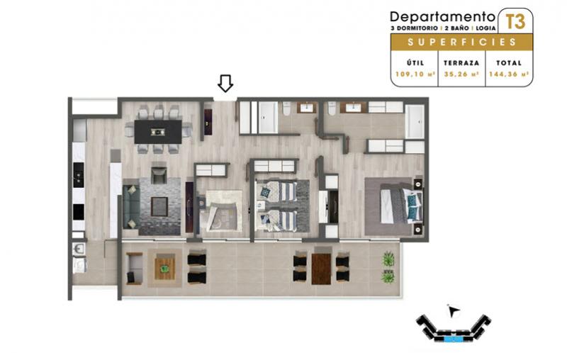condominio-mar-del-este-departamento-t3