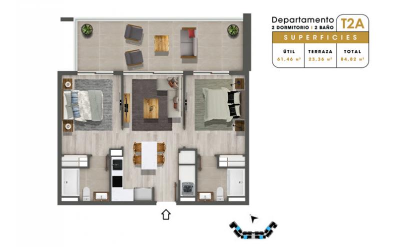 condominio-mar-del-este-departamento-t2a