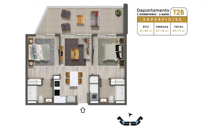 condominio-mar-del-este-departamento-t2b