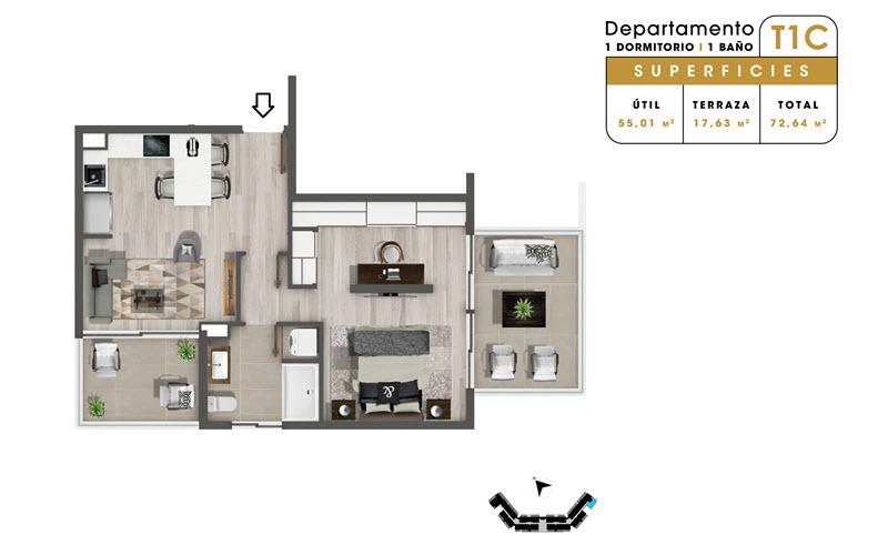 condominio-mar-del-este-departamento-t1c