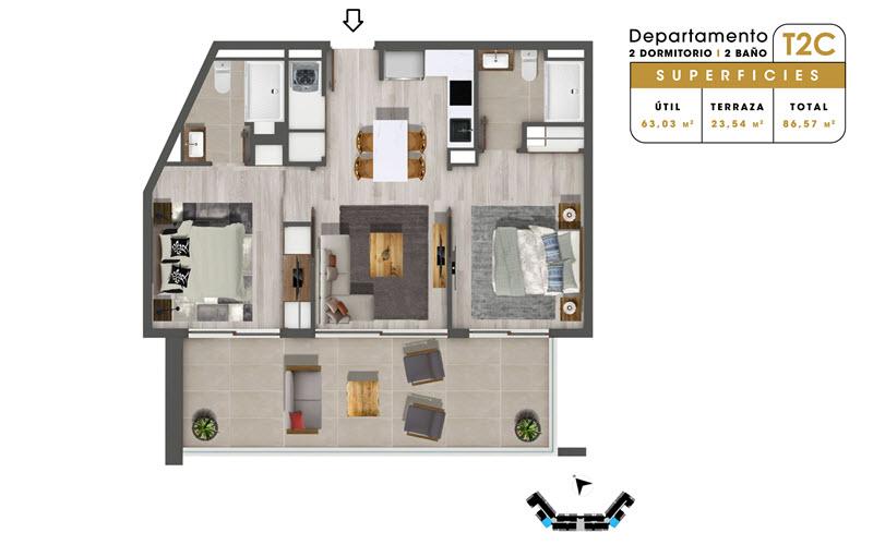 condominio-mar-del-este-departamento-t2c