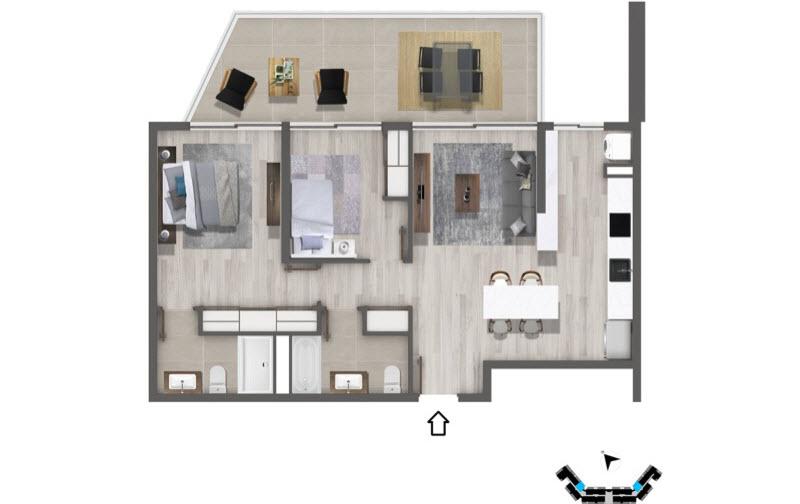 condominio-mar-del-este-departamento-t2e