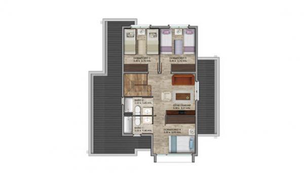 condominio-cataluña---casas-modelo-a