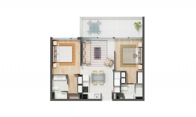 condominio-los-almendros-reñaca-tipo-3b