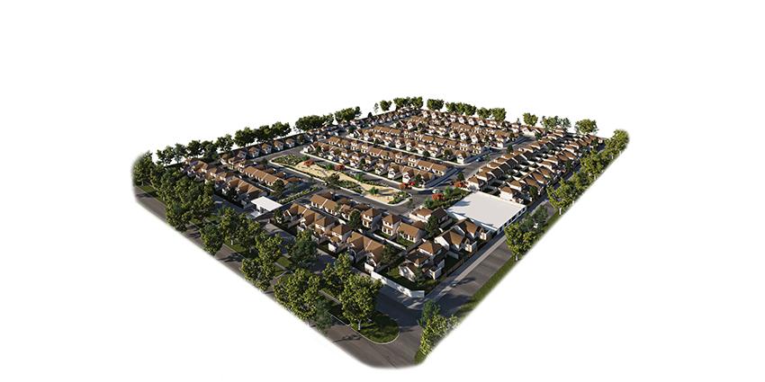Proyecto Condominio Los Avellanos de Inmobiliaria PY-8