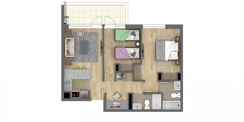 condominio-parque-krahmer-tipo-c2
