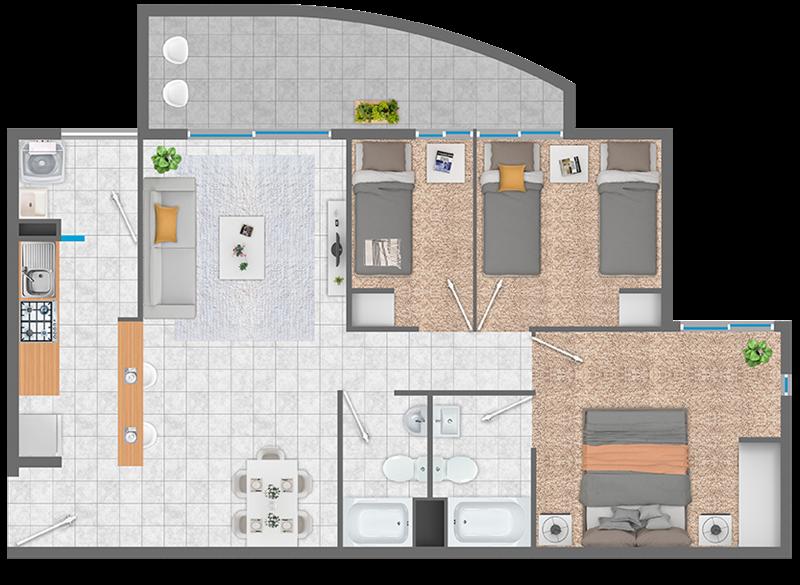 condominio-altos-del-limarí-planta-fsm2