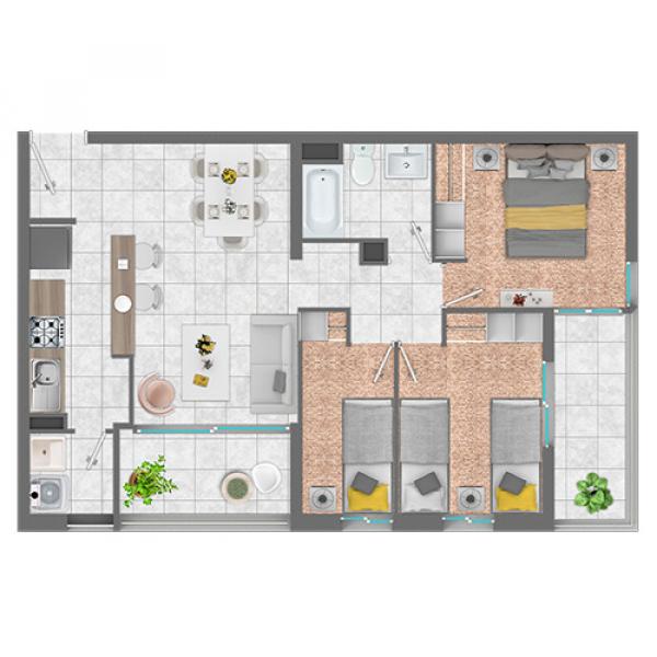 condominio-volcanes-planta-3d+1d---7104-m2