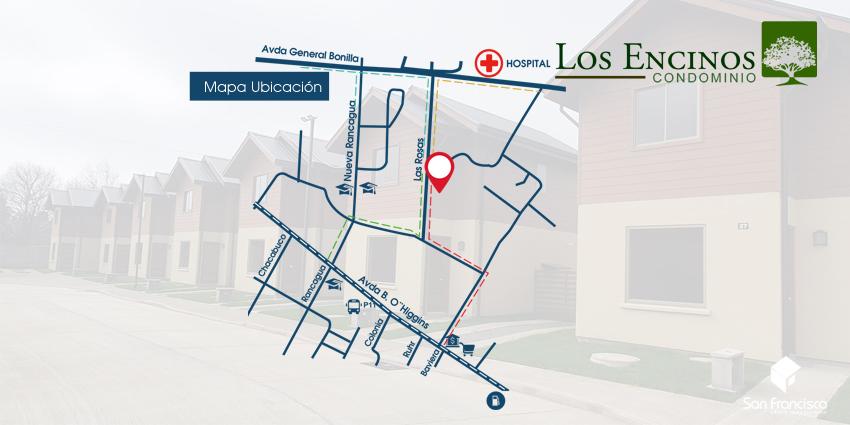Proyecto Condominio Los Encinos de Inmobiliaria Grupo Inmobiliario San Francisco-2