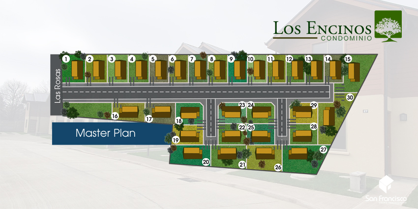 Proyecto Condominio Los Encinos de Inmobiliaria Grupo Inmobiliario San Francisco-3