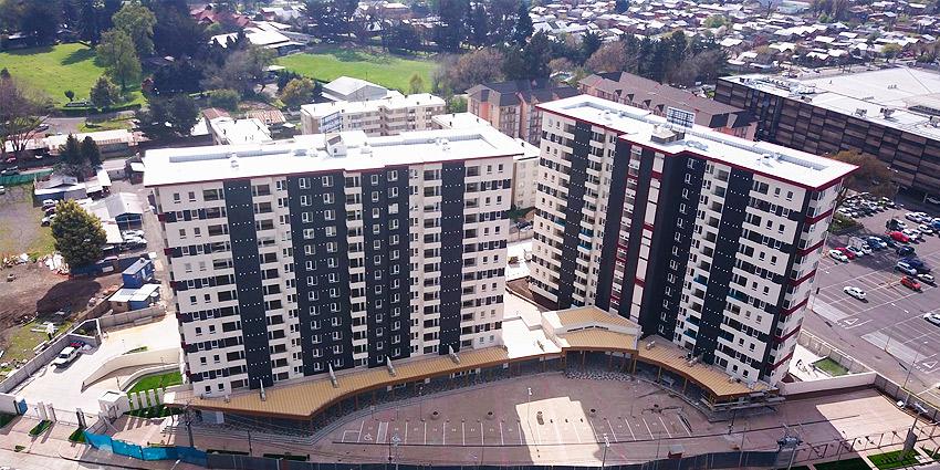 Proyecto Condominio Plaza Parque Los Poetas de Inmobiliaria Dubois-3