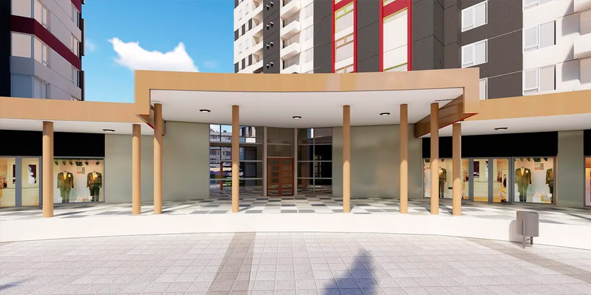 Proyecto Condominio Plaza Parque Los Poetas de Inmobiliaria Dubois-6
