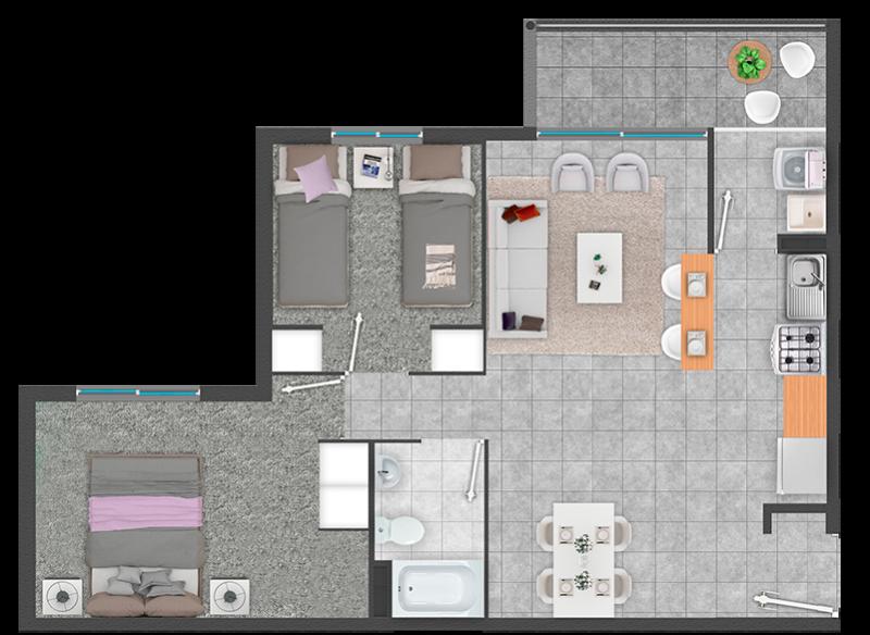 condominio-el-real-planta-fv---venta-exclusiva-para-subsidios-ds49-ó-ds01-título-i-tramo-i