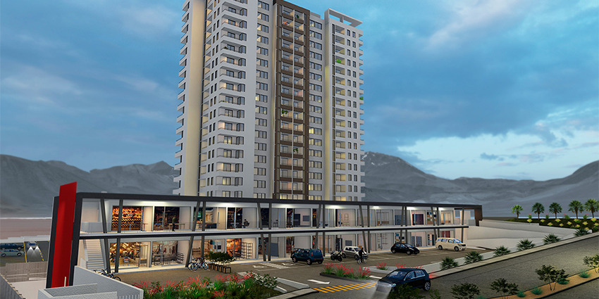 Proyecto Condominio Volcanes de Inmobiliaria Pacal-2