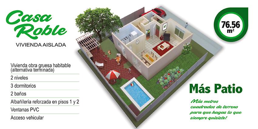 Proyecto Parque Res San Marcos - Etapa XIV de Inmobiliaria Miramar Constructora-8