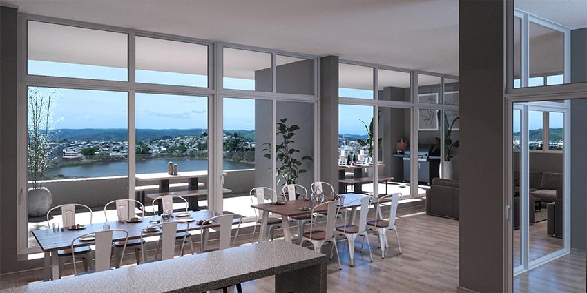 Proyecto Edificio Parque Ongolmo de Inmobiliaria Krono-8