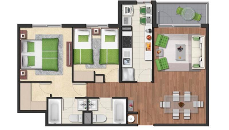 condominio-plaza-schwerter-tipo-58c