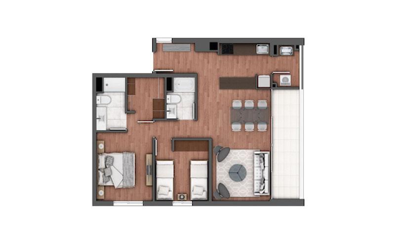 edificio-holanda-Ñuñoa-tipo-204