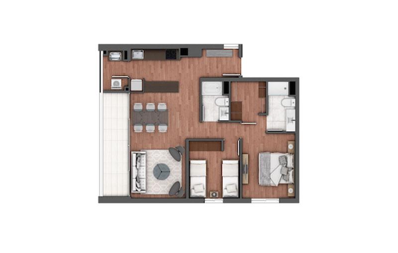edificio-holanda-Ñuñoa-tipo-301