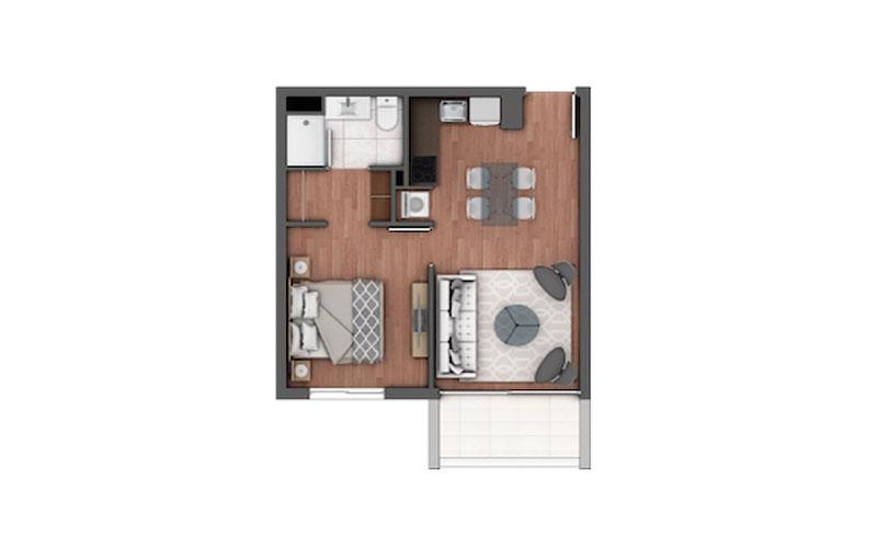 edificio-holanda-Ñuñoa-tipo-303