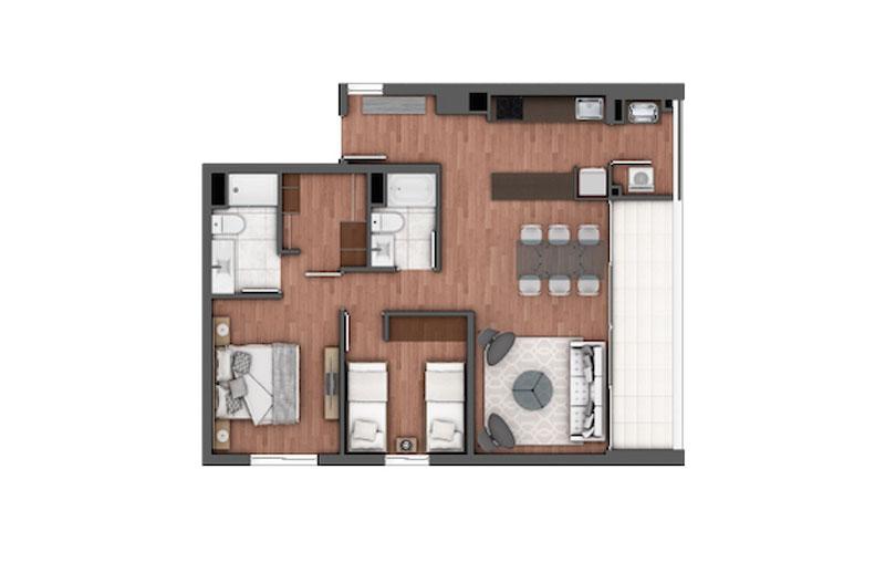 edificio-holanda-Ñuñoa-tipo-304