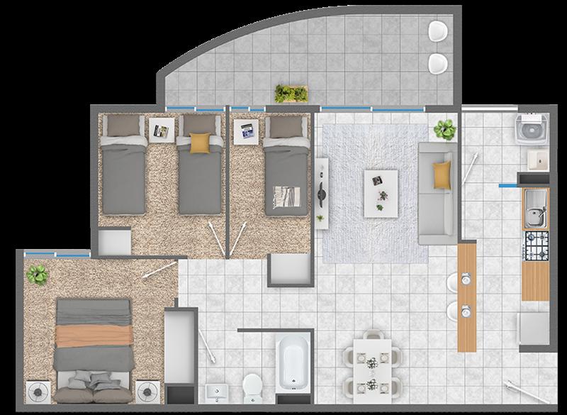 condominio-sendero-del-bosque-fsm1---3d+1b