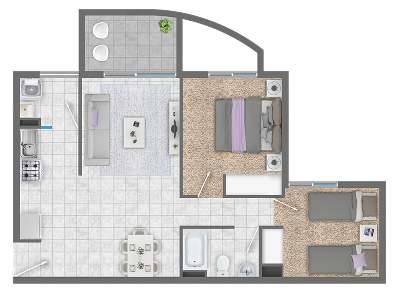 condominio-sendero-del-bosque-fv---2d+1b---venta-exclusiva-para-subsidios-ds49-ó-ds01-título-i-tramo-i