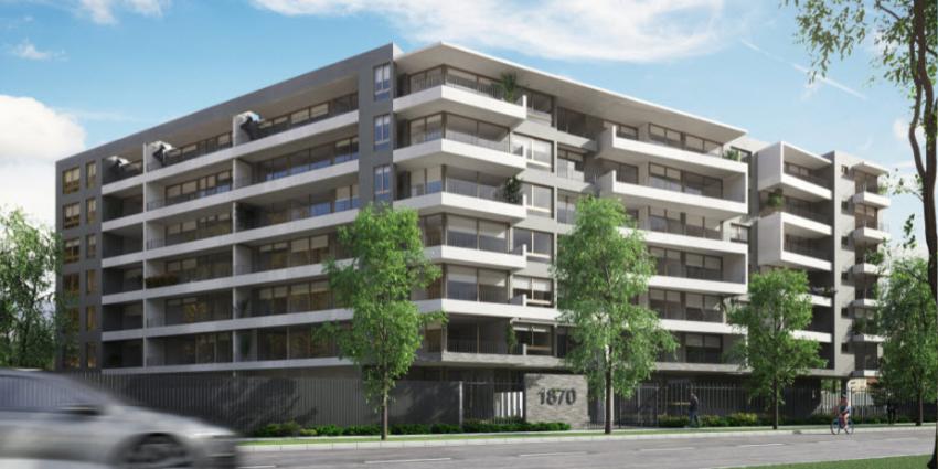 Proyecto Las Dalias 1870 de Inmobiliaria Proyeccion Inmobiliaria