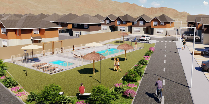 Proyecto Dunas de Costa Laguna de Inmobiliaria Aconcagua