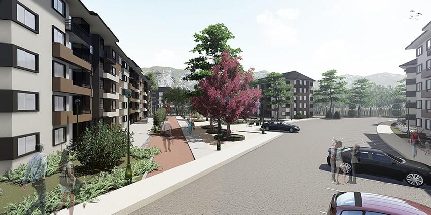 Proyecto Condominio Parque Encanto de Curauma de Inmobiliaria Puerta del Sol SPA