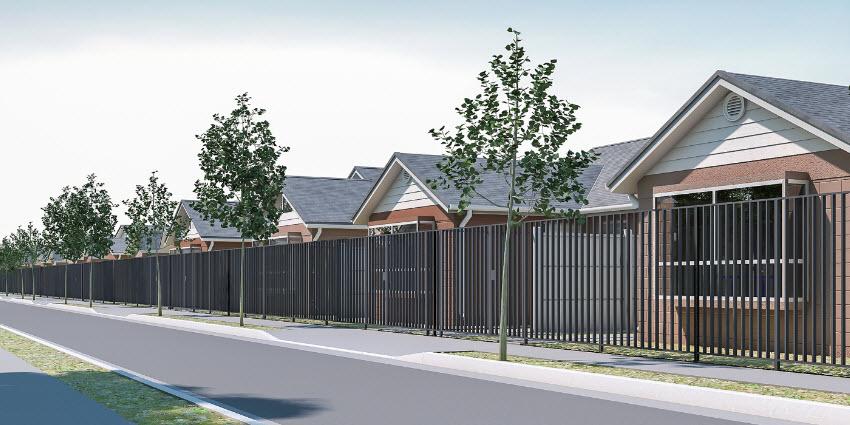 Proyecto Barrio Norte IV de Inmobiliaria La Cruz Inmobiliaria