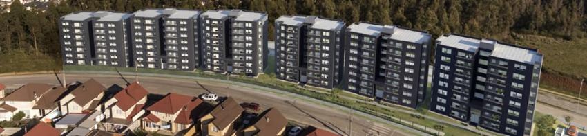 Proyecto Parque Torreones I y II de Inmobiliaria Aconcagua