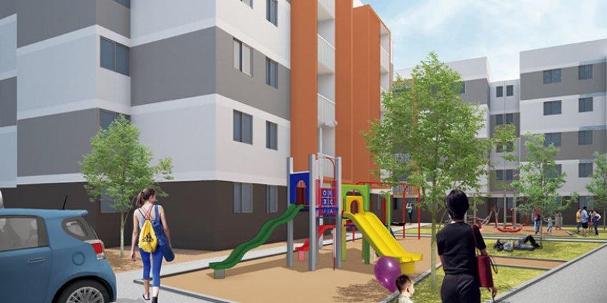 Proyecto Jardin Poniente - Condominio de Inmobiliaria Los Silos