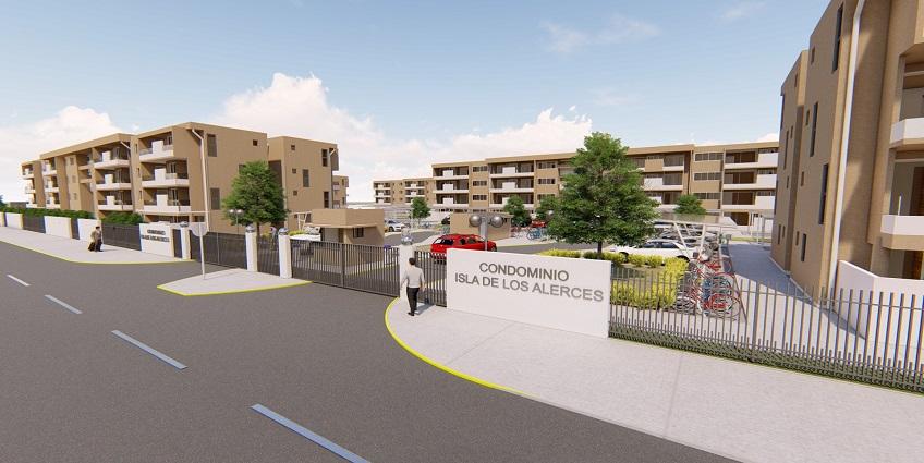 Proyecto Condominio Isla de Los Alerces de Inmobiliaria Lago Otoñal