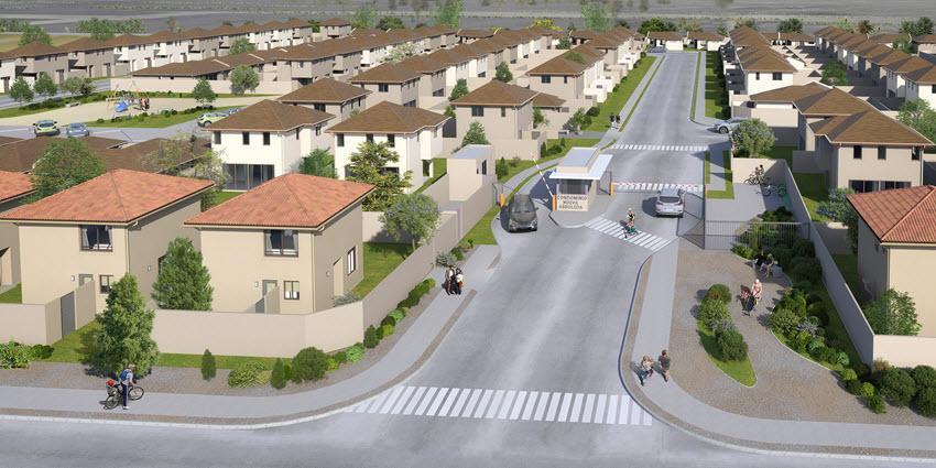 Proyecto Condominio Nueva Arboleda de Inmobiliaria PY