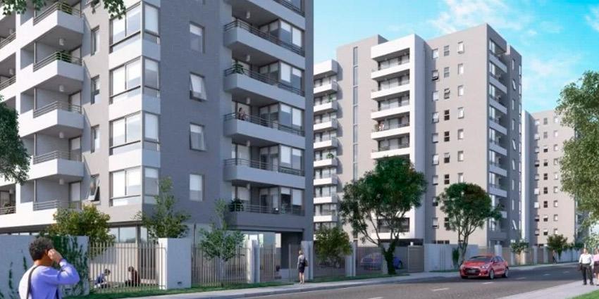 Proyecto Barrio Cumbres - Edifcio Manquehue de Inmobiliaria Grepsa-1