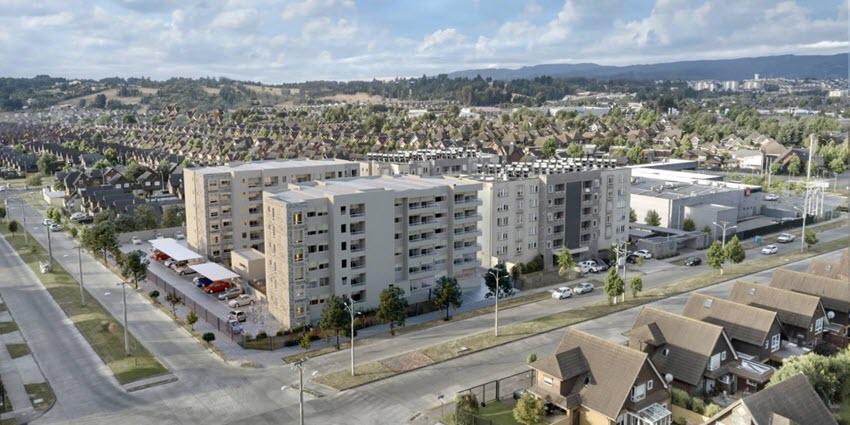 Proyecto Edificio Barrio Inglés II de Inmobiliaria Aconcagua